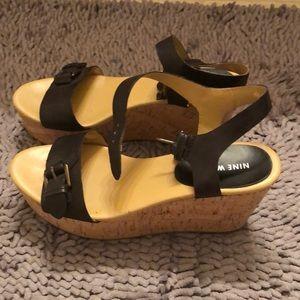 Black 9.5 sandals